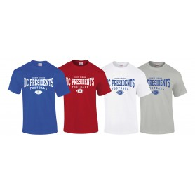 DC Presidents - Custom Ball 2 Logo T-Shirt