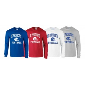 DC Presidents - Custom Ball 1 Logo Longsleeve T Shirt