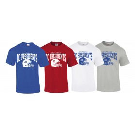DC Presidents - Custom Helmet Logo 2 T-Shirt