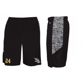 Clyde Valley Blackhawks - Blend Panel Pocketed Shorts