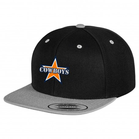 Craigavon Cowboy - Embroidered Two-Tone Snapback