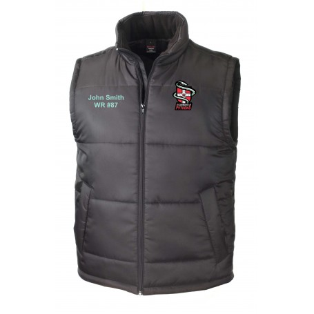 Cambridge Pythons - Custom Embroidered Bodywarmer