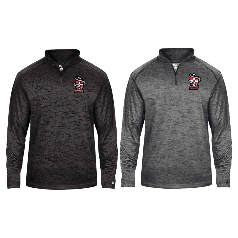 Cambridge Pythons - Embroidered Tonal Blend Sport 1/4 Zip